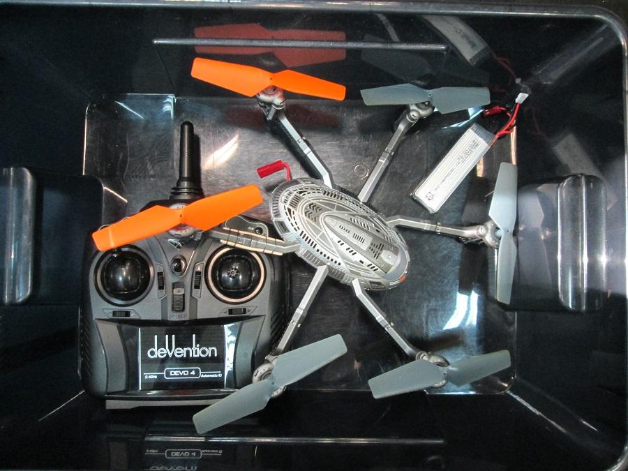 Вышли из строя двигатели квадрокоптера Walkera Y100+D4