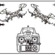 Режимы квадрокоптерра Syma-X5C. Инструкция.