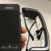 Видео очки Epson Moverio BT-20 для FPV