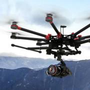 Октокоптер DJI Wings S1000 Plus  — двойная функциональность на высоком уровне.
