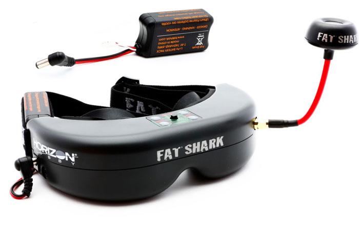 Видео очки Fat shark teleporter v3fpv– новинка для просмотра видео