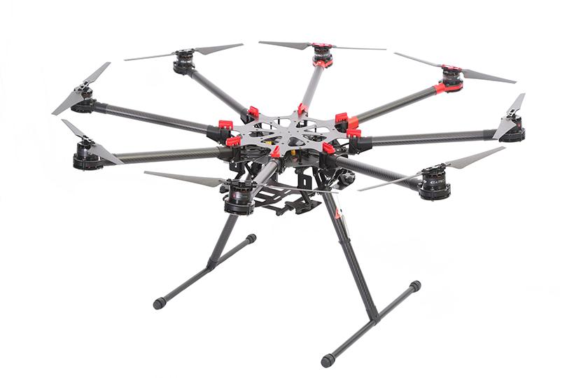 Интересный летающий аппарат октокоптер с «интересной» ценой