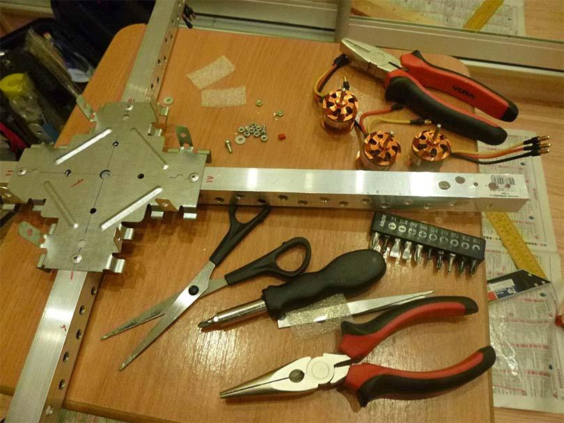 квадрокоптер своими руками пошаговая инструкция - фото 7