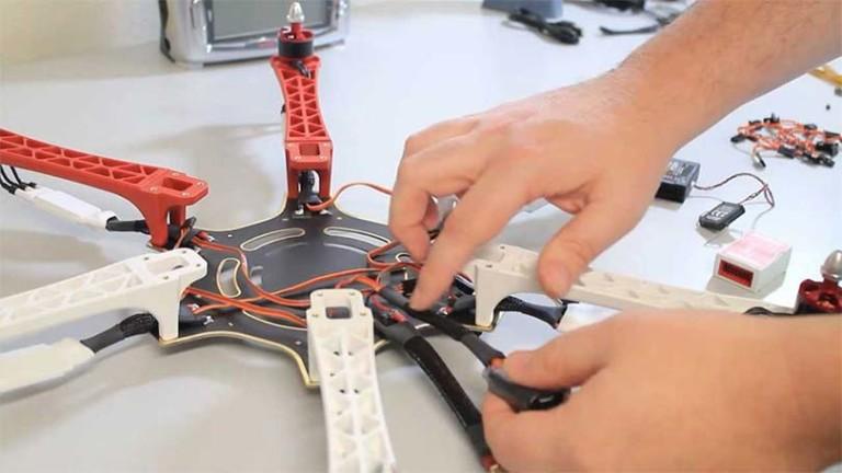 Построить квадрокоптер своими руками 11
