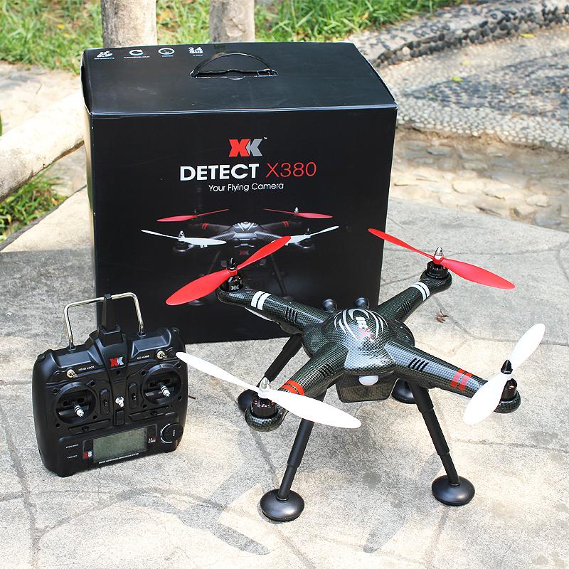 Квадрокоптер xk detect x380 с fpv - экономичный и функциональный