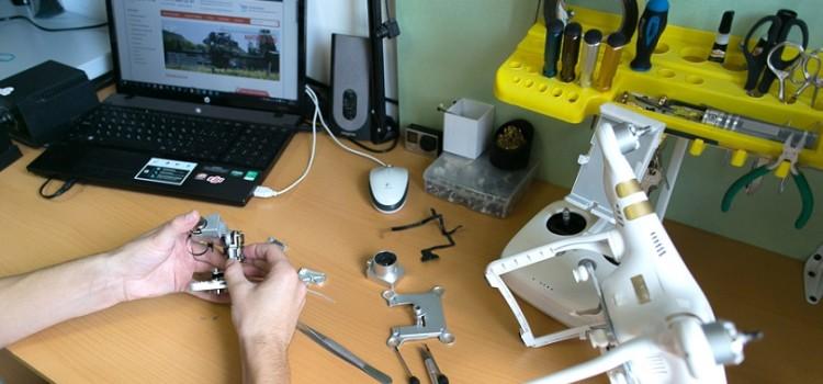 Когда возник вопрос: как починить квадрокоптер?
