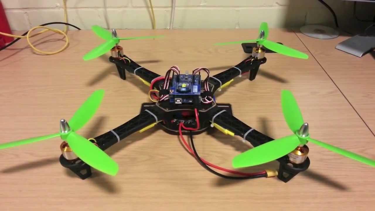 Квадрокоптер из arduino своими руками