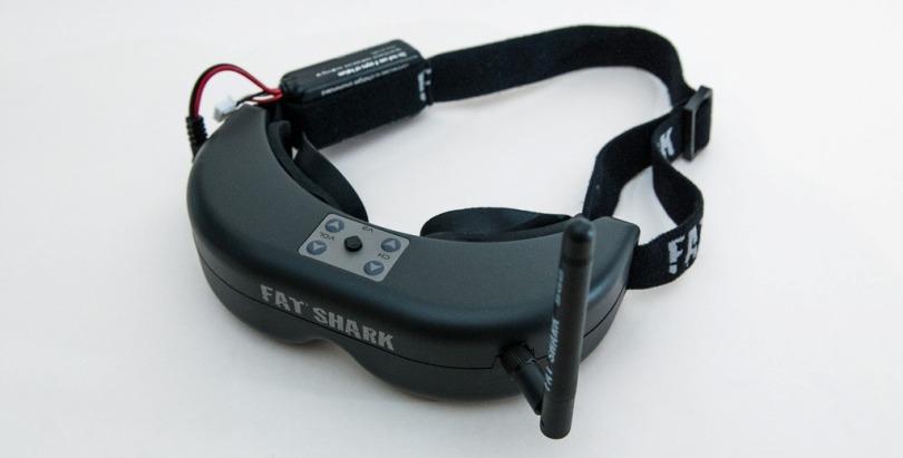 Видео очки для квадрокоптера