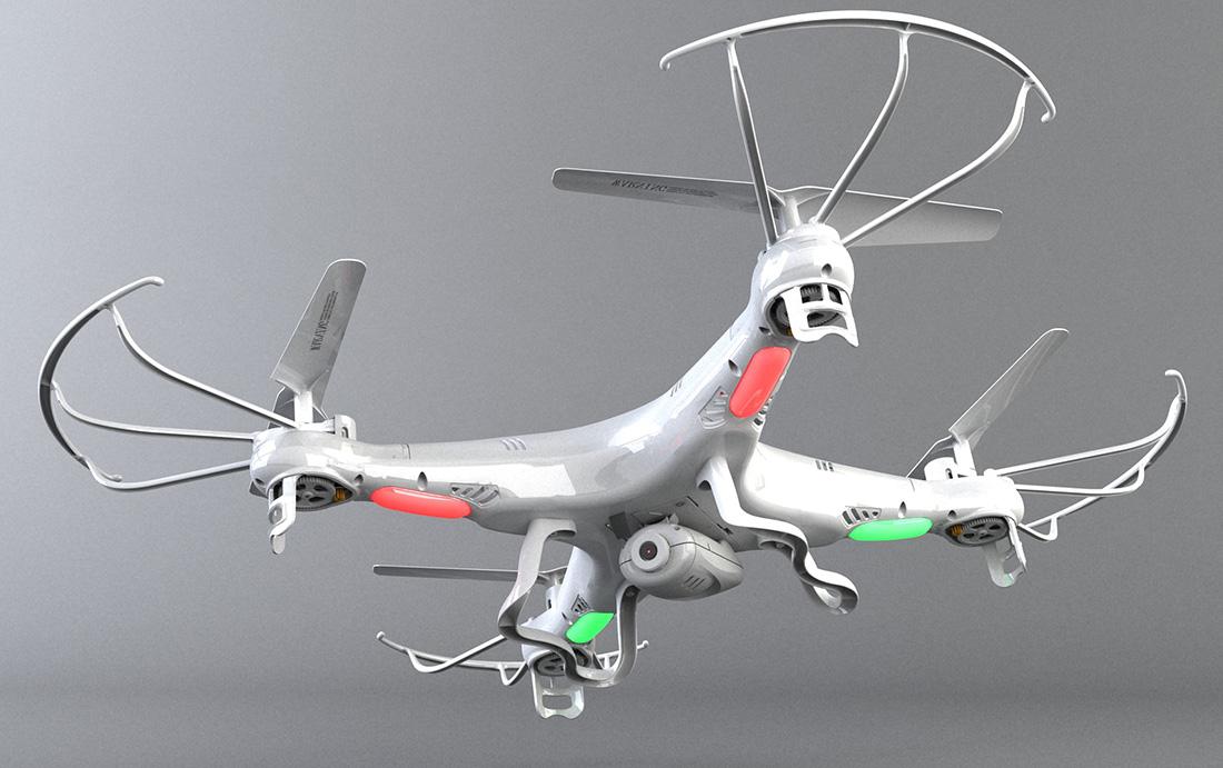 Quadcopter с камерой Syma X5C Explorers