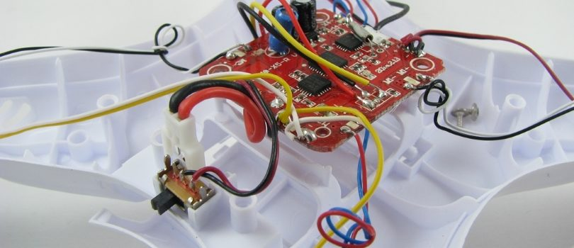 Как произвести ремонт квадрокоптера Syma своими руками