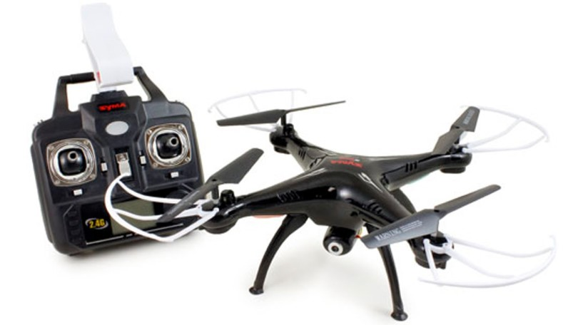 Обзор на квадрокоптер Syma X5SW