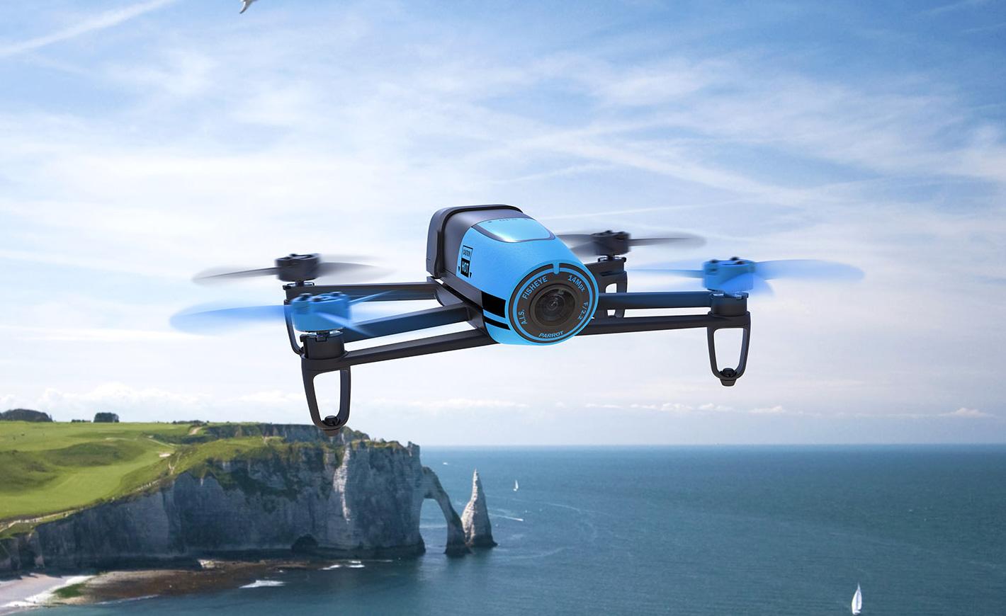 Квадрокоптер Parrot Bebop Drone 2 белый PF726023