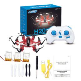 Комплектация JJRC H20 Нано Hexacopter 2.4G довольно стандартна