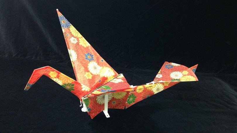 Необычный дрон-оригами презентовали в Японии