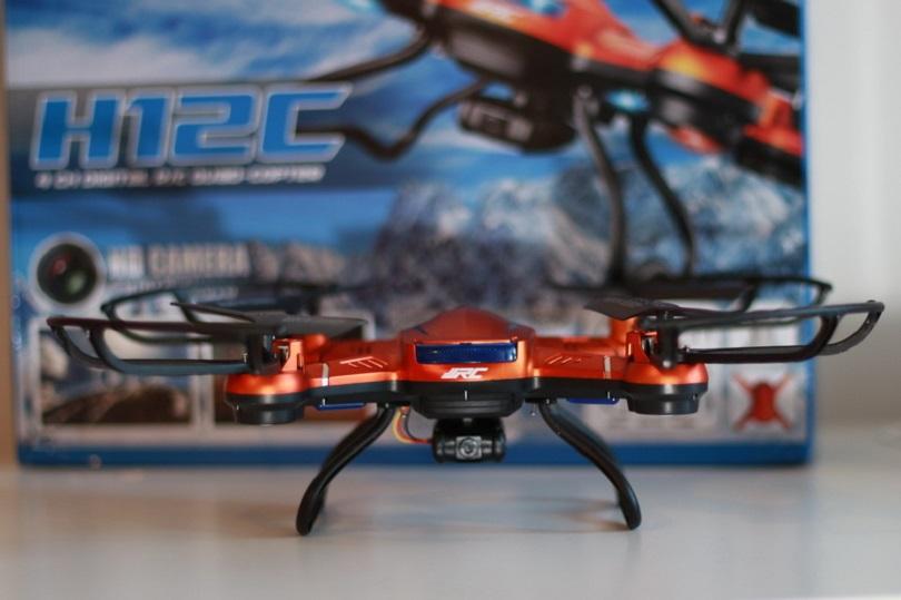 Квадрокоптер JJRC H12C Headless Mode имеет встроенную защиту пропеллеров