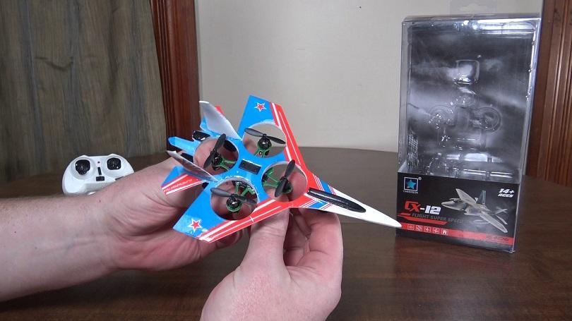 Коптер Cheerson CX12 Mini Fighter поступил в продажу