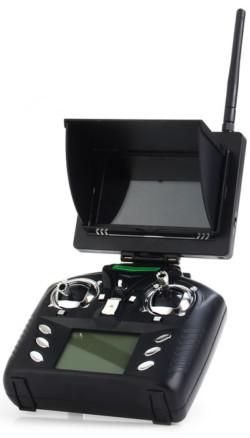 Пульт дистанционного правления WLtoys Q282G 5.8G FPV с установленным монитором