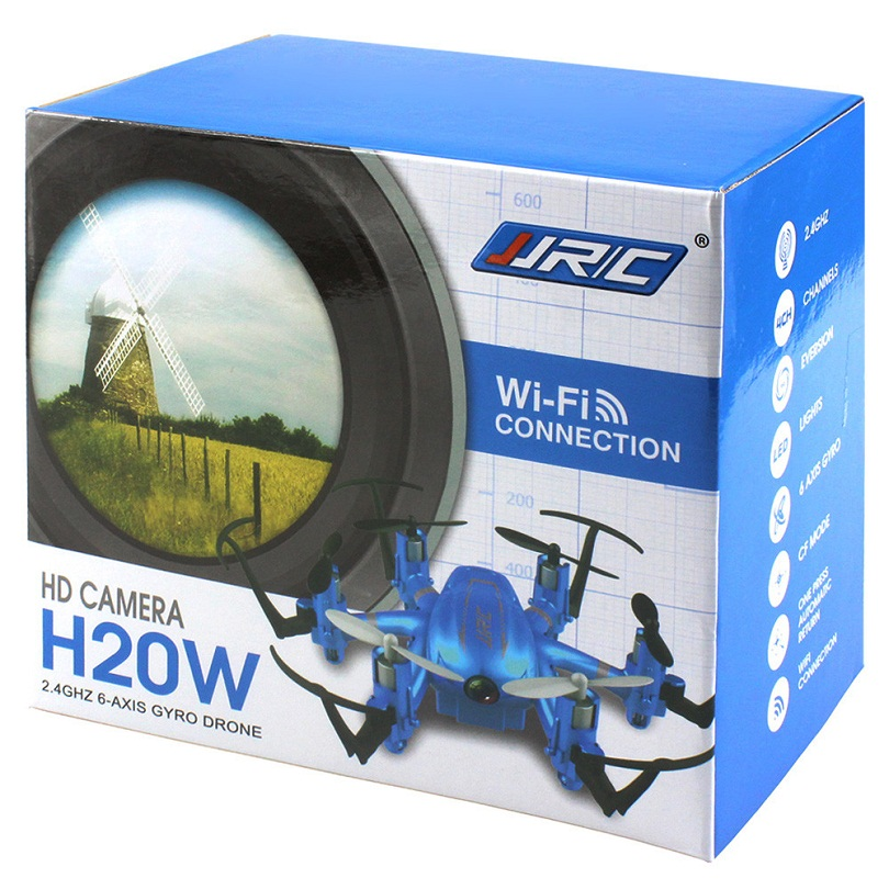 Упаковочная коробка гексакоптера JJRC H20W WIFI FPV