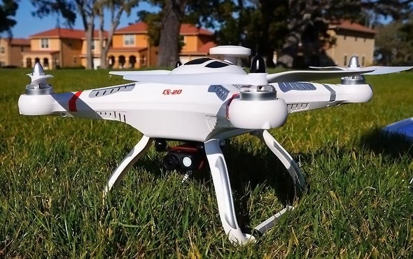 Отличный вид квадрокоптера Cheerson CX20 покоряет своей непосредственностью