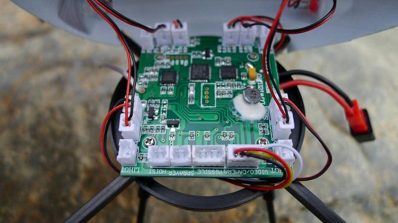 Для квадрокоптера Wltoys V222 2.4G есть множество запасных частей
