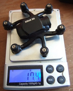 Коптер FQ777-126C Mini Spider имеет шесть пропеллеров