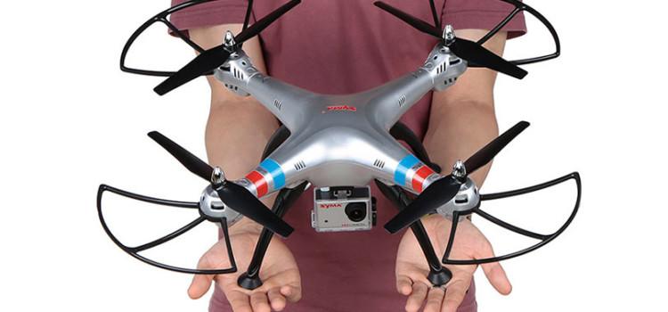 Syma X8G — квадрокоптер для новичков, желающих снимать с воздуха