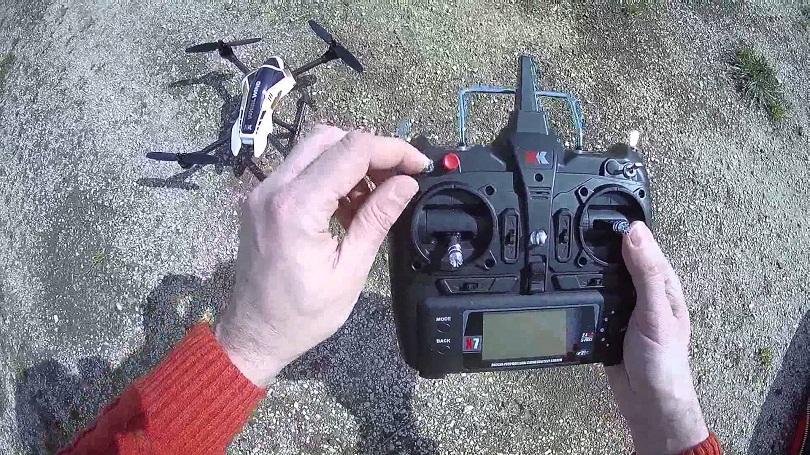 Знакомство с квадрокоптером XK X251 и его запасными частями