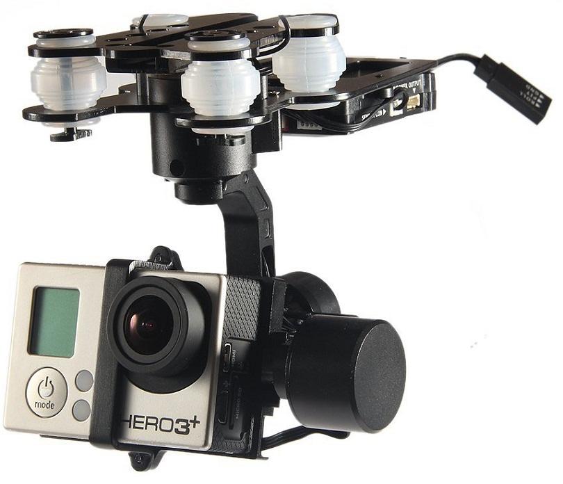 Комплект, предназначенный для съемки на Walkera QR X350 Premium FPV
