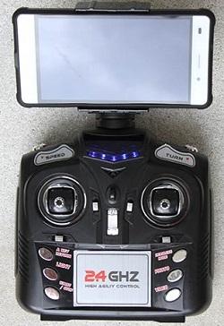 Управление аппаратом JXD 509G осуществляет при помощи пульта