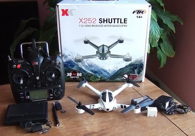 Упаковка и комплект поставки XK X251 выглядит довольно стандартно