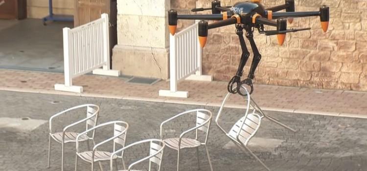 Японцы изобрели «рукастый» дрон