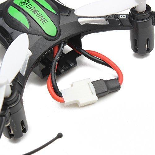Место установки силового аккумулятора Eachine H8 Mini Headless Mode