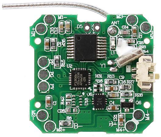 Плата управления FQ777 FQ11 имеет в своем составе много сложных компонентов