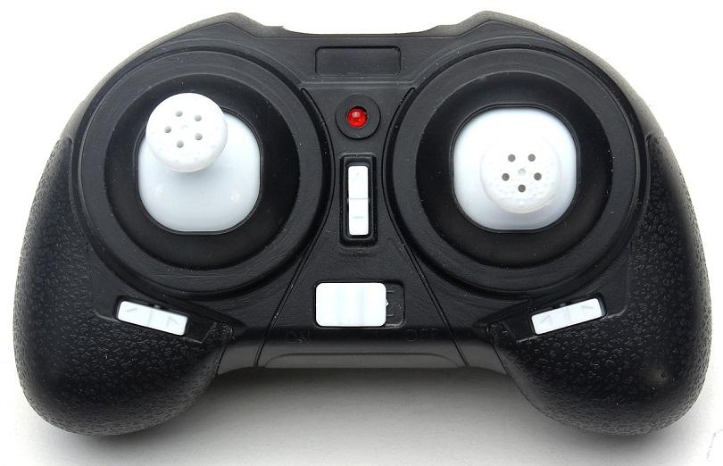 Пульт управления Eachine H8 Mini Headless Mode имеет оригинальную форму