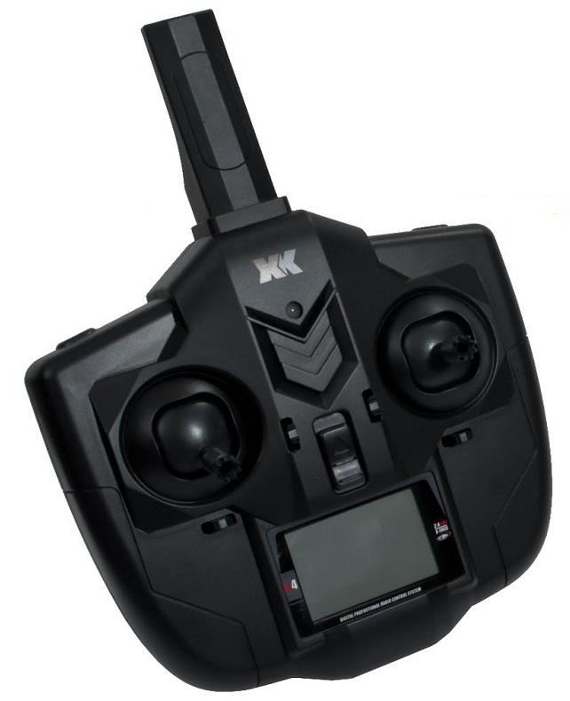 Трансмиттер XK X100 With 3D неплох и обладает всеми необходимыми данными