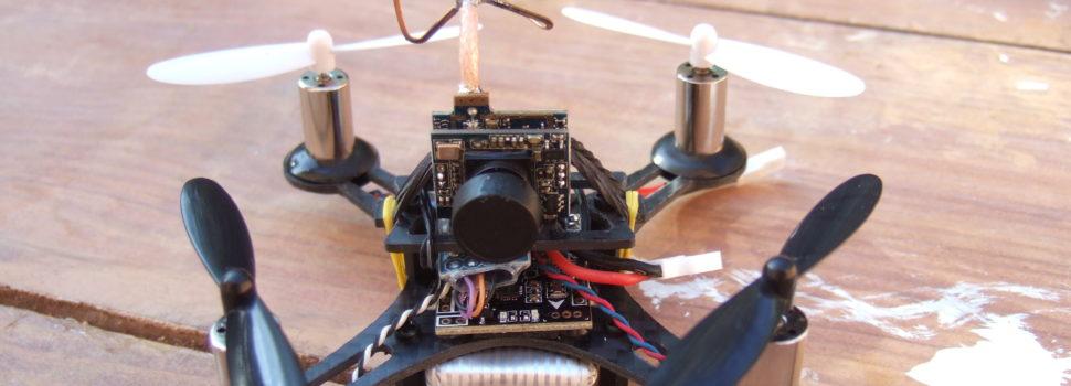 Миниатюрный FPV гонщик квадрокоптер Eachine Tiny QX90
