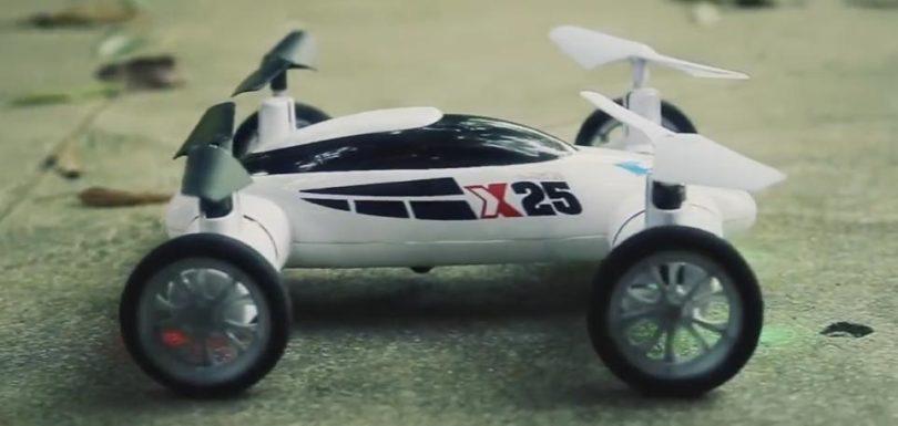 Auto Drone SY X25 имеет очень интересный дизайн и функционал