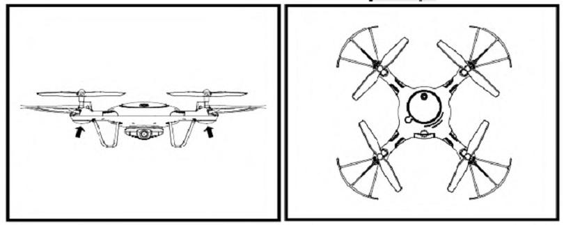 Инструкция для квадрокоптера Syma X5UW описывает возможности изделия