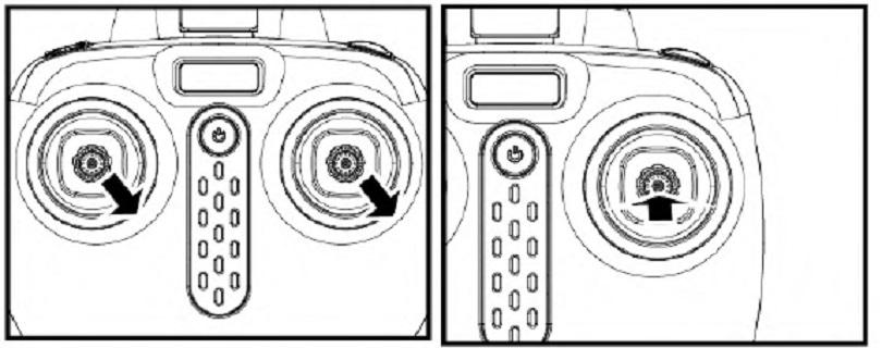 Инструкция для квадрокоптера Syma X5UW уточняет возможность переключения скоростей