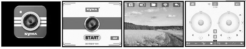 Инструкция для квадрокоптера Syma X5UW описывает управление при помощи смартфона