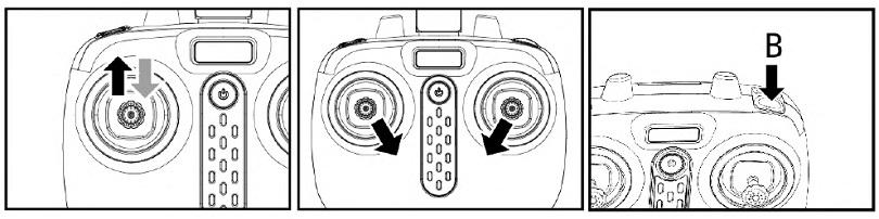 Инструкция для квадрокоптера Syma X5UW указывает на возможности включения аппарата