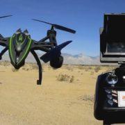 Обзор интересного квадрокоптера JXD 510G с FPV камерой