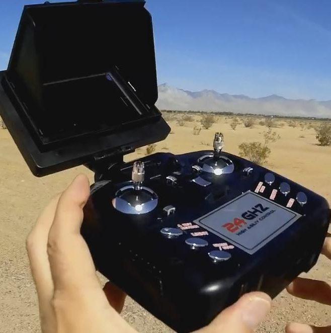 Передатчик JXD 510G удобный с правильным расположением кнопок