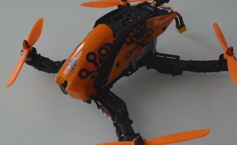 В собранном виде Tarot TL280H выглядит как идеальный спортивный гоночный дрон