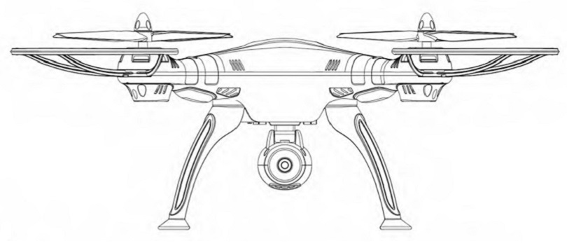 Инструкция для квадрокоптера Syma X8C включает в себя технику безопасности