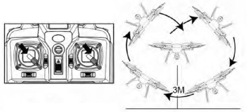 Инструкция для квадрокоптера Syma X8C рассказывает о функциях этой модели