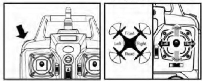 Инструкция для квадрокоптера Syma X8C описывает режим «headless»