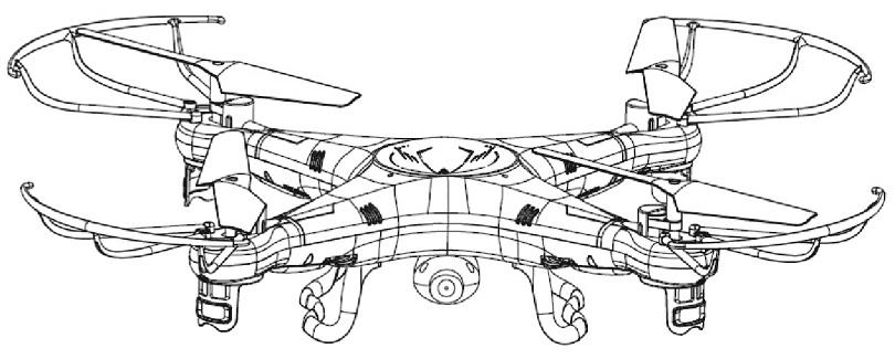 Инструкция для квадрокоптера Syma X5C описывает его основные особенности