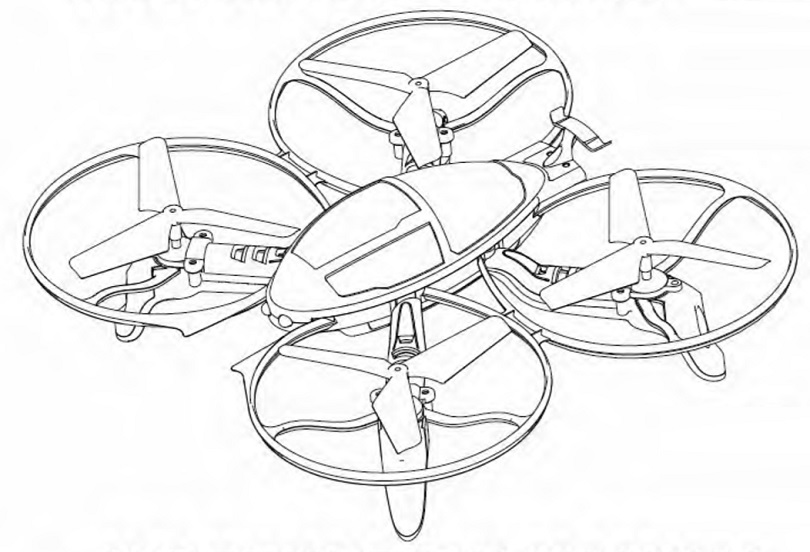 Инструкция для квадрокоптера Syma X4S рассказывает о технике безопасности