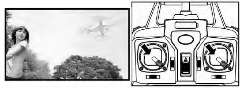 Инструкция для квадрокоптера Syma X5S описывает функции устройства